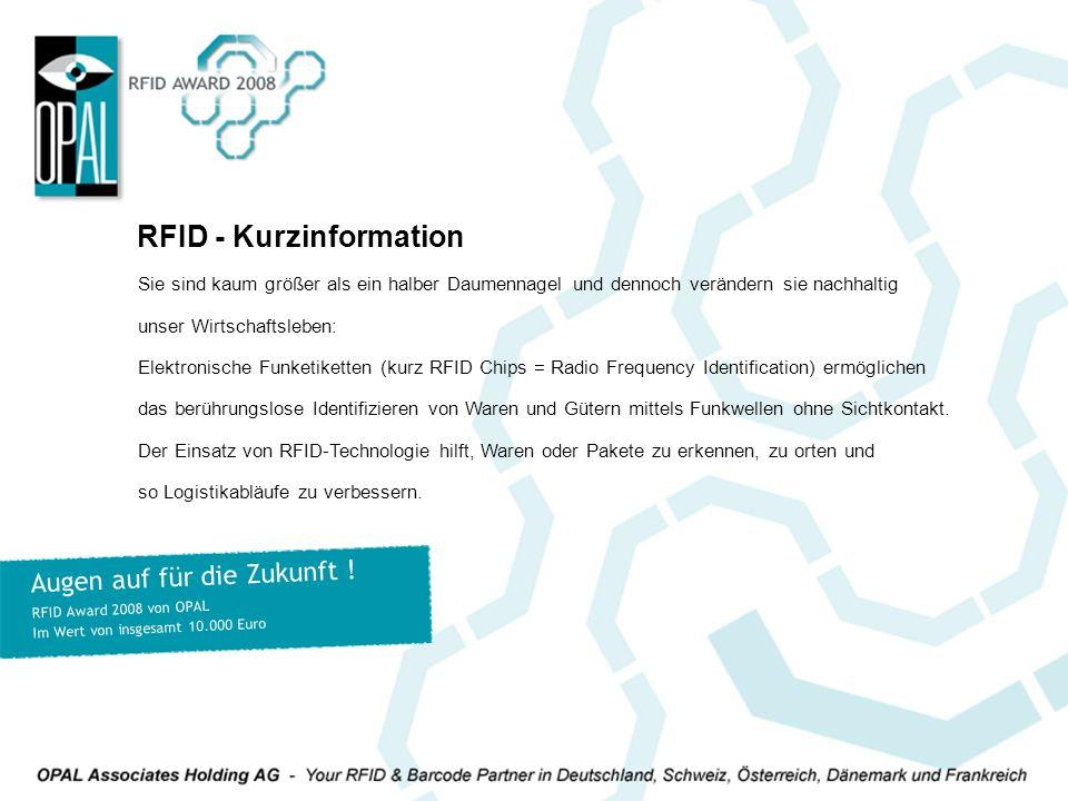 RFID - Kurzinformation