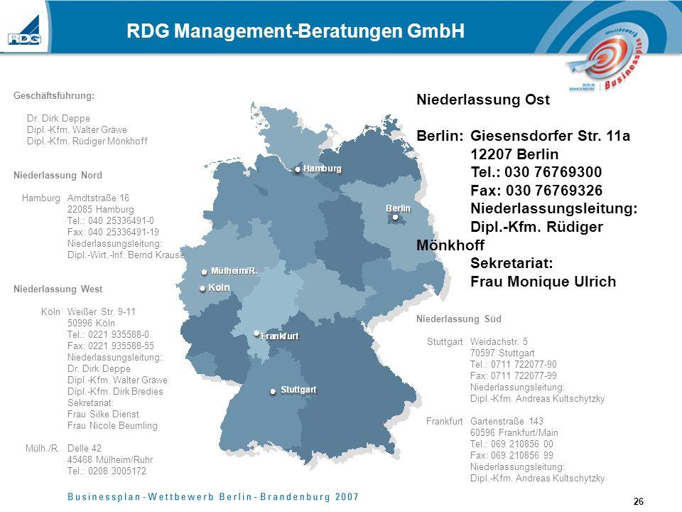 RDG Management-Beratungen GmbH