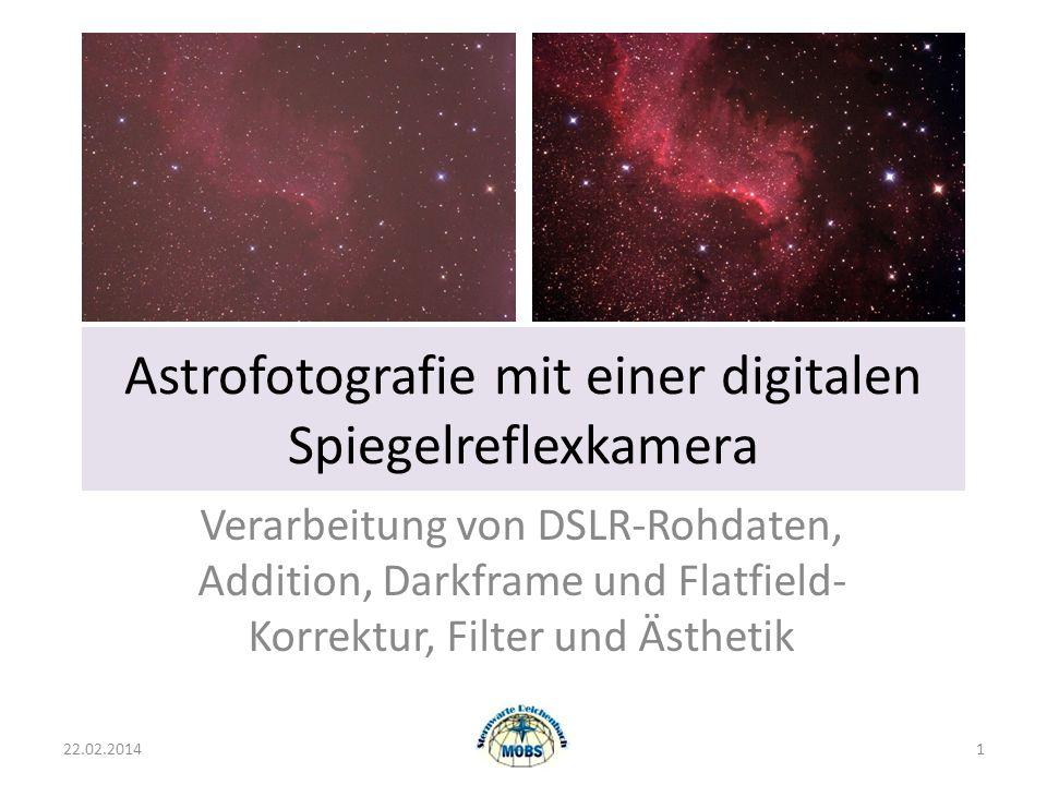 Astrofotografie mit einer digitalen Spiegelreflexkamera