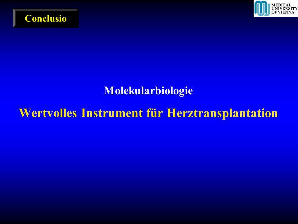 Wertvolles Instrument für Herztransplantation