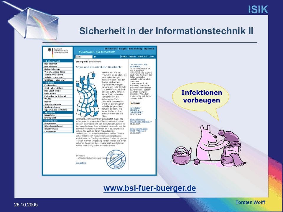 Sicherheit in der Informationstechnik II