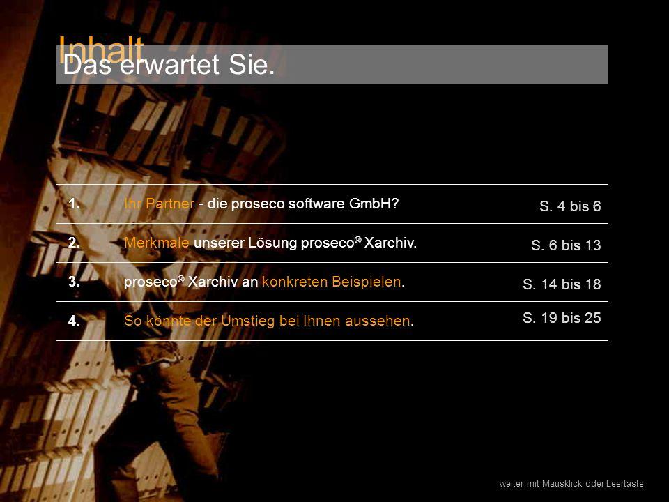 Ihr Partner - die proseco software GmbH