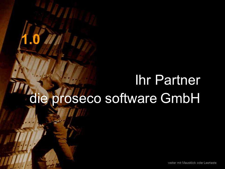 Ihr Partner die proseco software GmbH