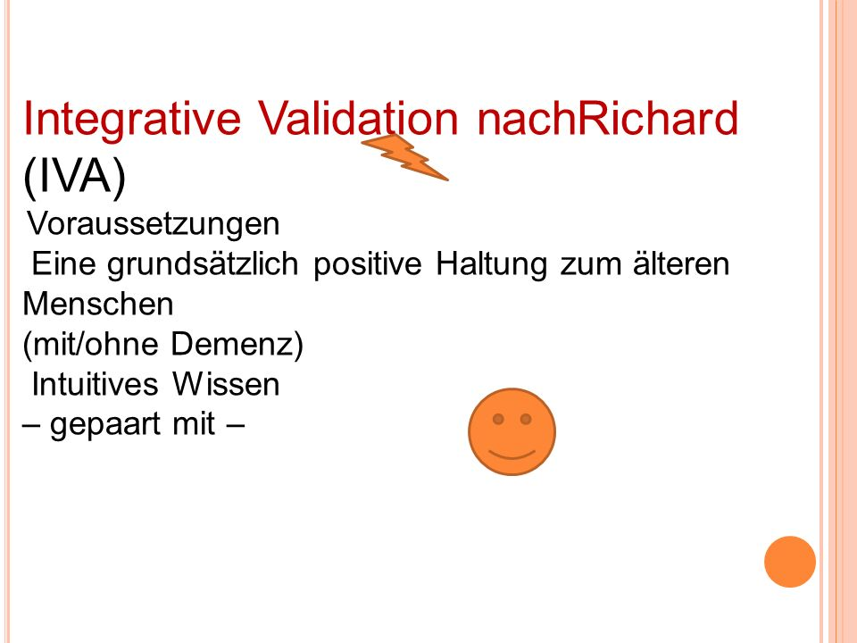 Integrative Validation nachRichard (IVA)