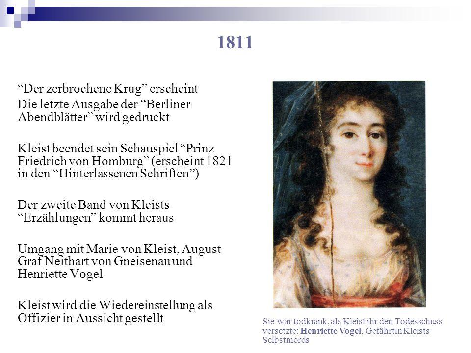 1811 Der zerbrochene Krug erscheint