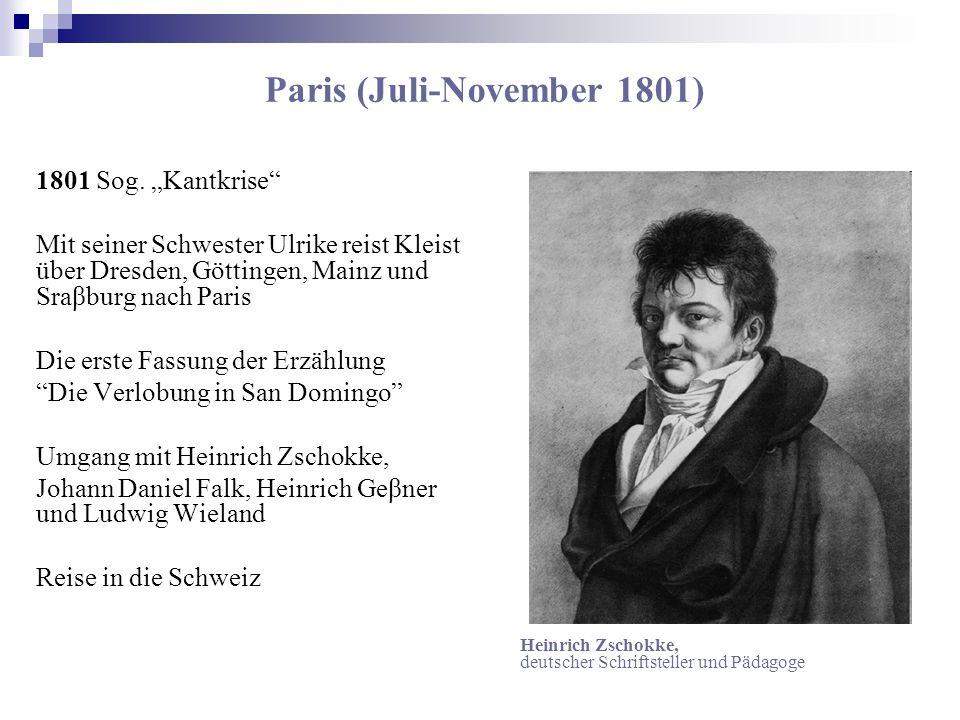 Paris (Juli-November 1801)