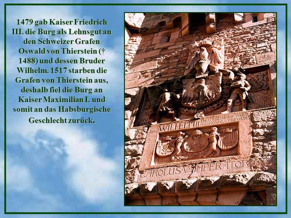 1479 gab Kaiser Friedrich III