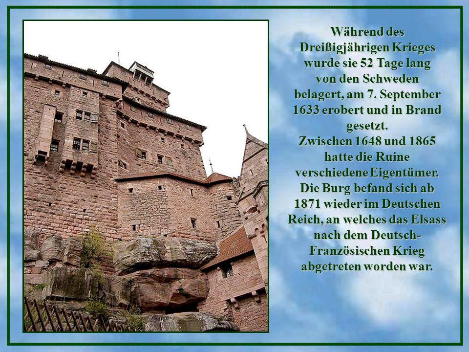 Während des Dreißigjährigen Krieges wurde sie 52 Tage lang von den Schweden belagert, am 7.