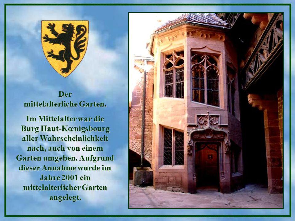 Der mittelalterliche Garten.