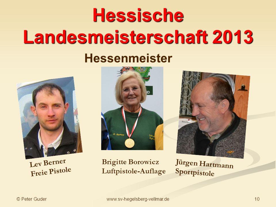 Hessische Landesmeisterschaft 2013