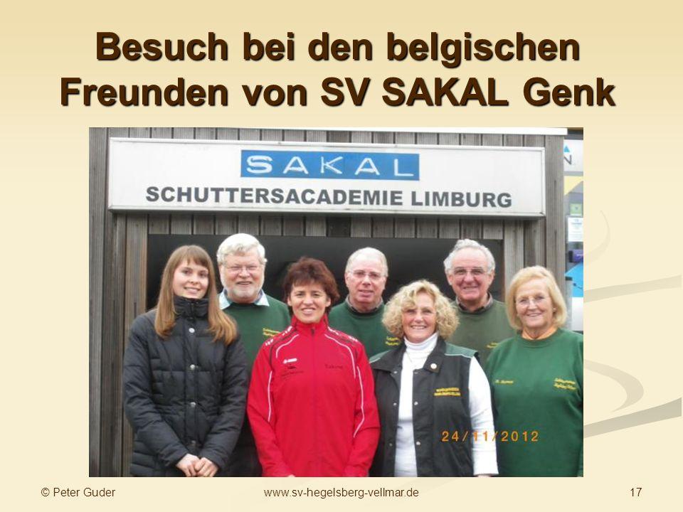 Besuch bei den belgischen Freunden von SV SAKAL Genk