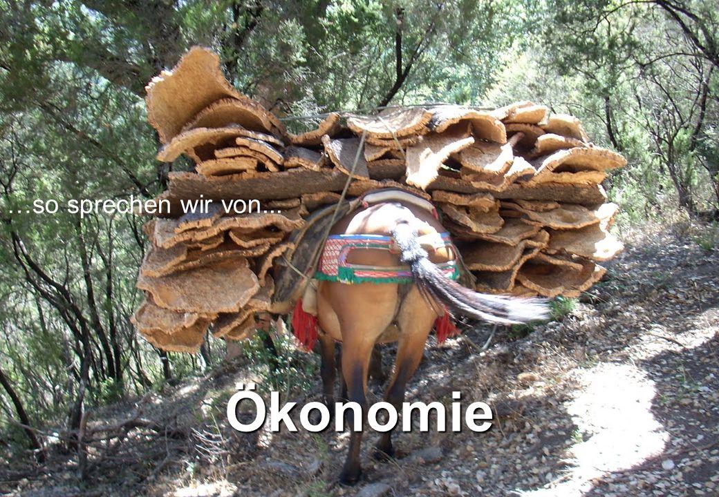 …so sprechen wir von... Ökonomie