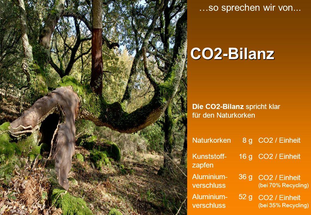 CO2-Bilanz …so sprechen wir von...