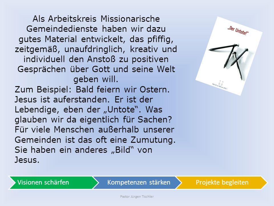 Pastor Jürgen Tischler