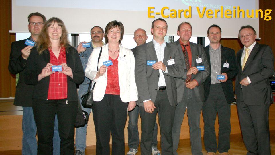 E-Card Verleihung