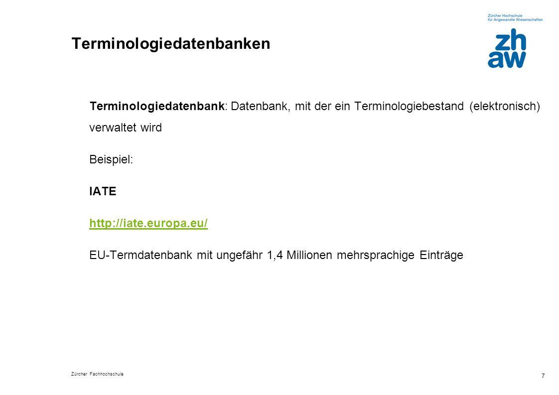 Terminologiedatenbanken