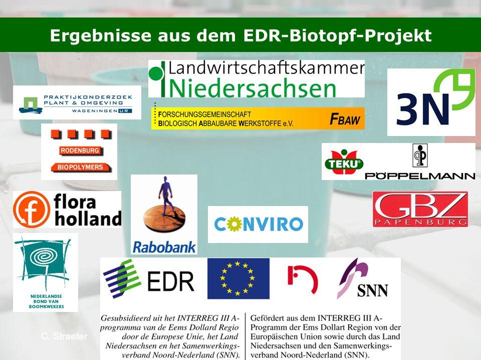 Ergebnisse aus dem EDR-Biotopf-Projekt