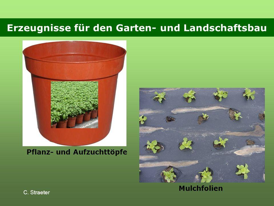 Erzeugnisse für den Garten- und Landschaftsbau