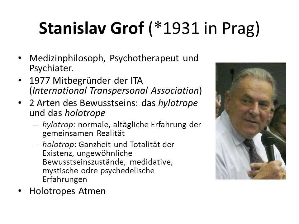 Stanislav Grof (*1931 in Prag)