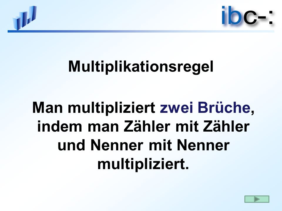 Multiplikationsregel