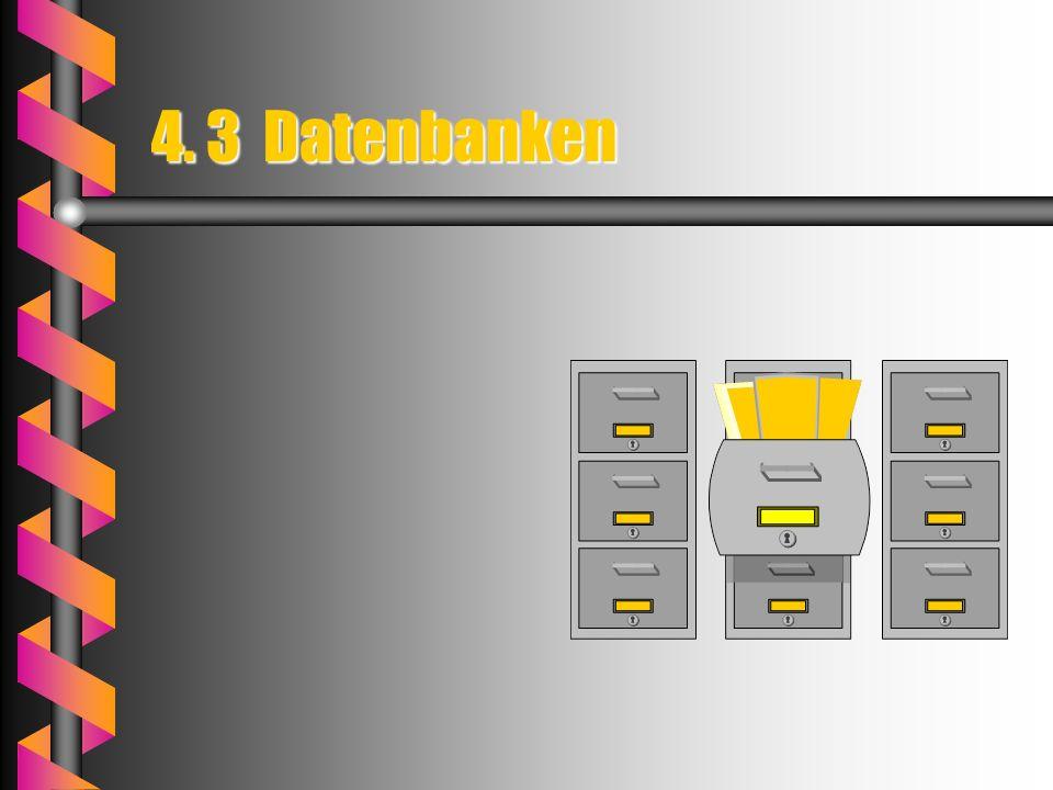 4. 3 Datenbanken