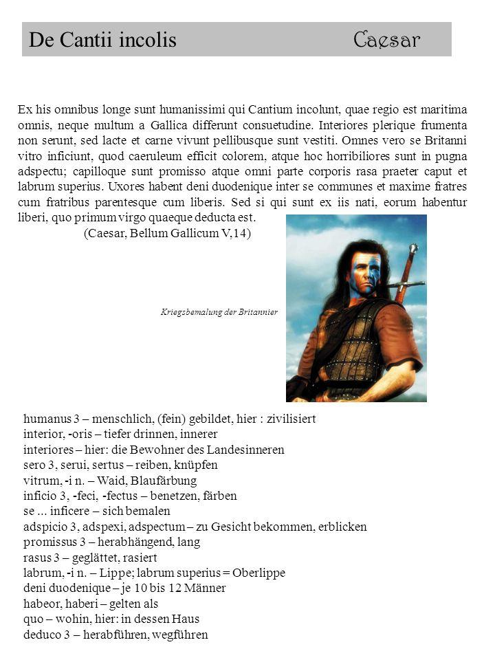 De Cantii incolis Caesar