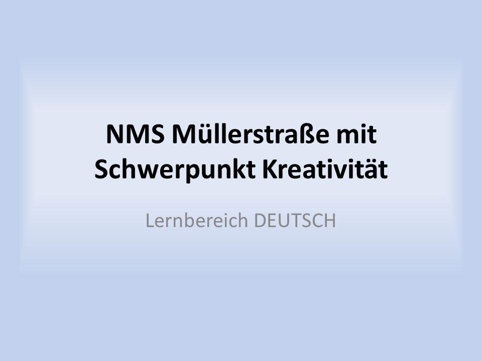 NMS Müllerstraße mit Schwerpunkt Kreativität