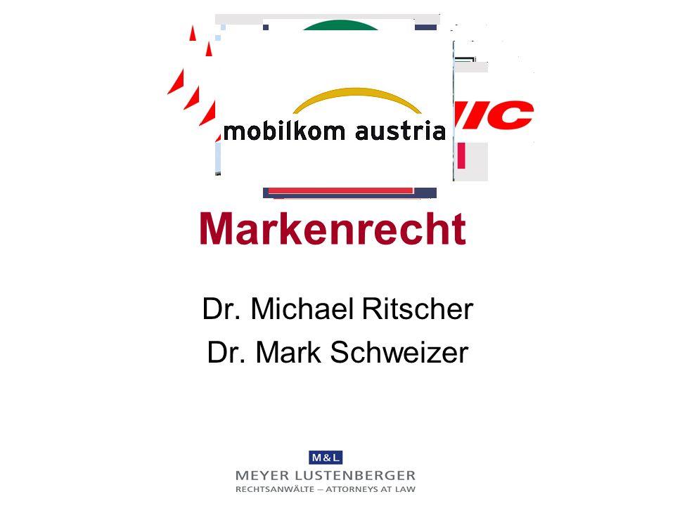 Dr. Michael Ritscher Dr. Mark Schweizer