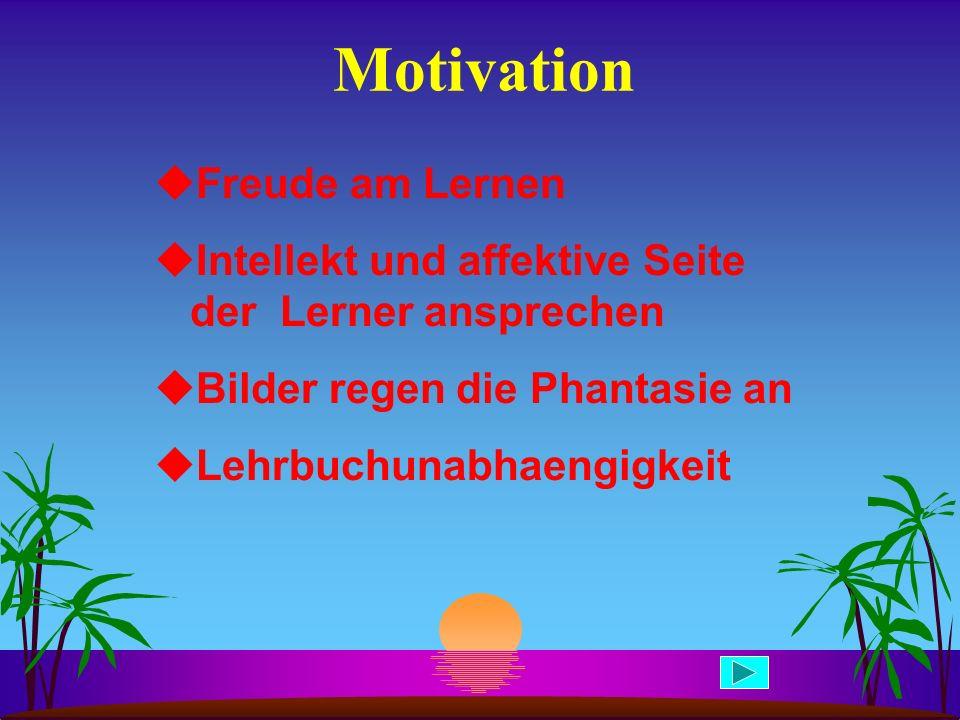 Motivation Freude am Lernen