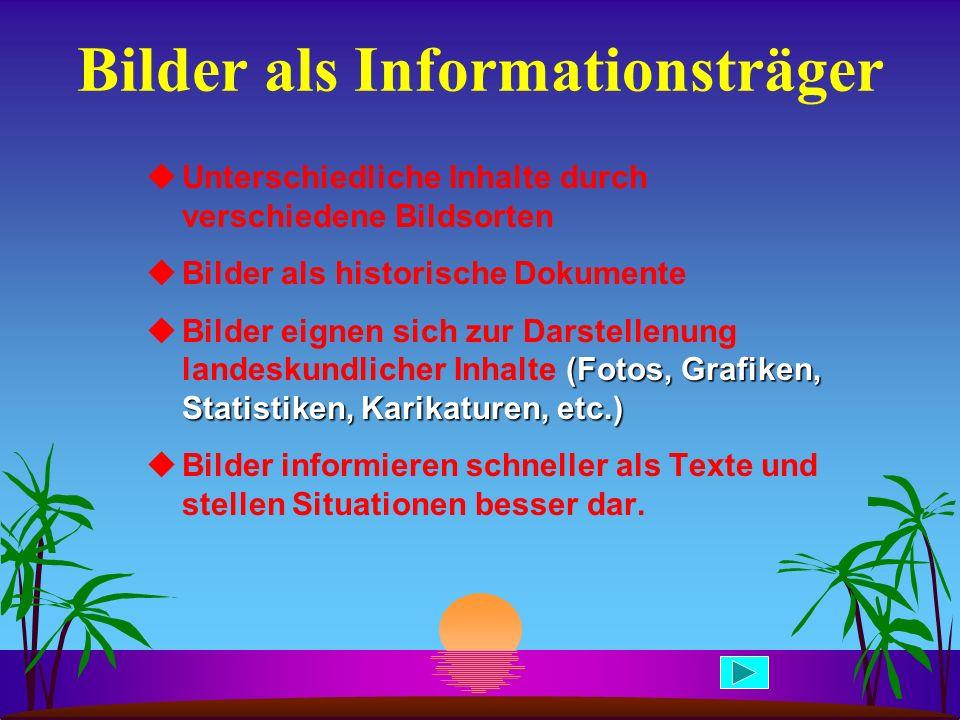 Bilder als Informationsträger