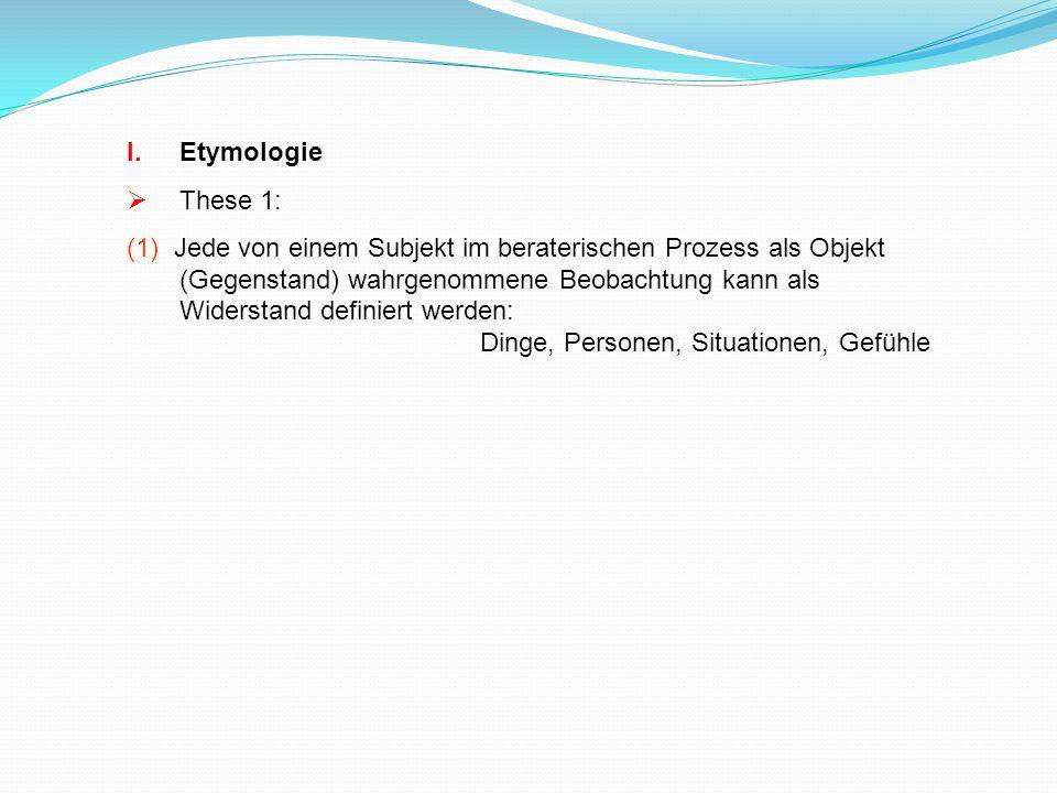 Etymologie These 1:
