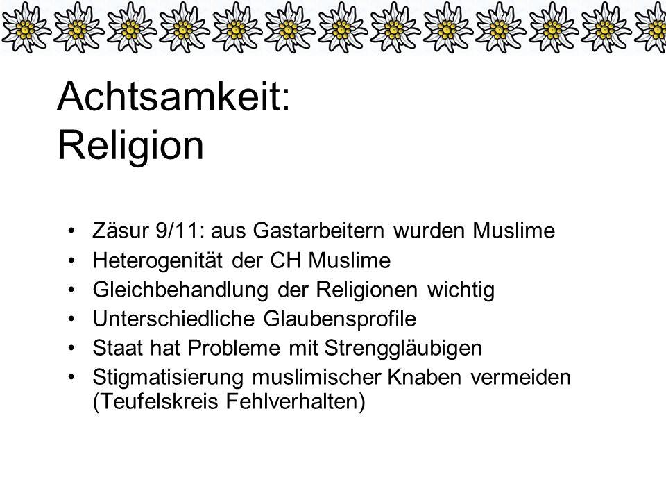 Achtsamkeit: Religion