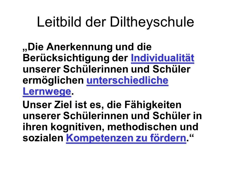 Leitbild der Diltheyschule