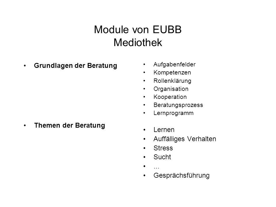 Module von EUBB Mediothek
