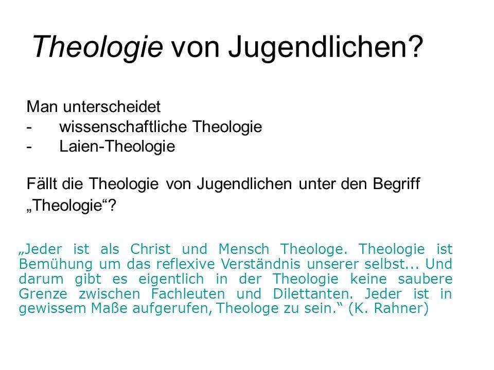 Theologie von Jugendlichen