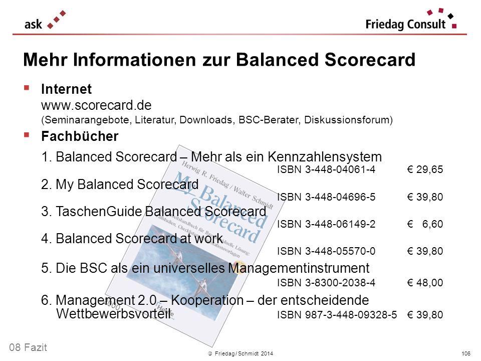 Mehr Informationen zur Balanced Scorecard