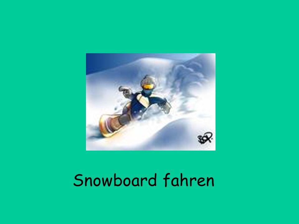 Snowboard fahren