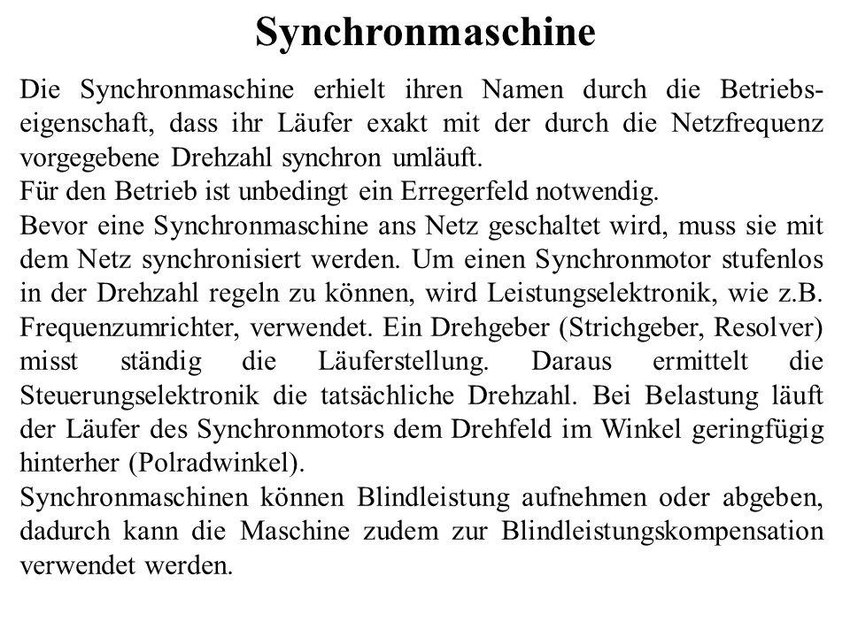 Synchronmaschine