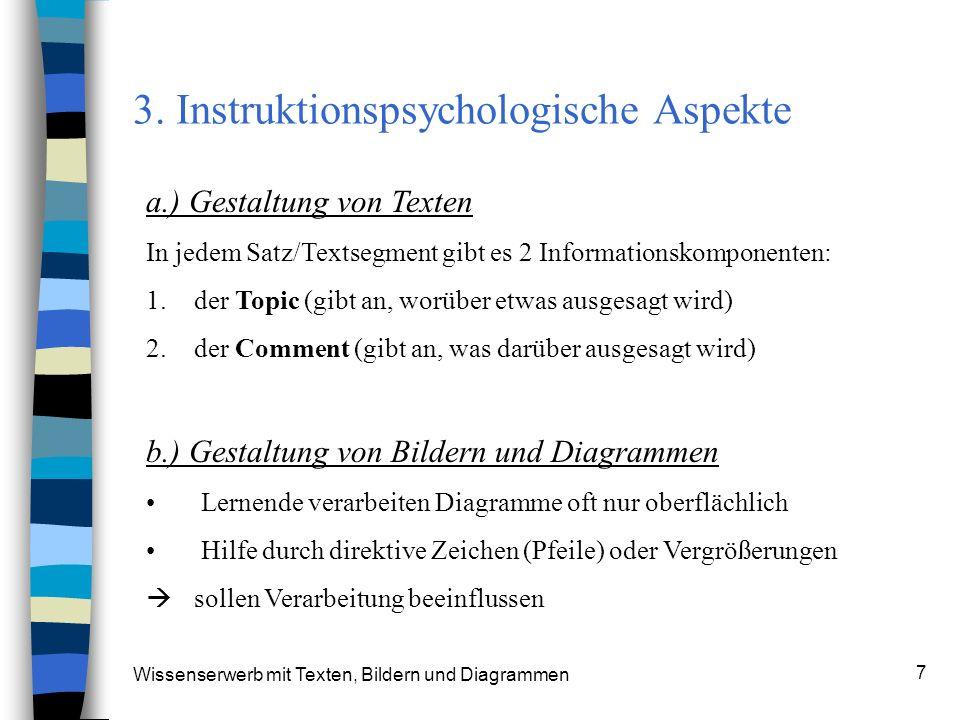 3. Instruktionspsychologische Aspekte