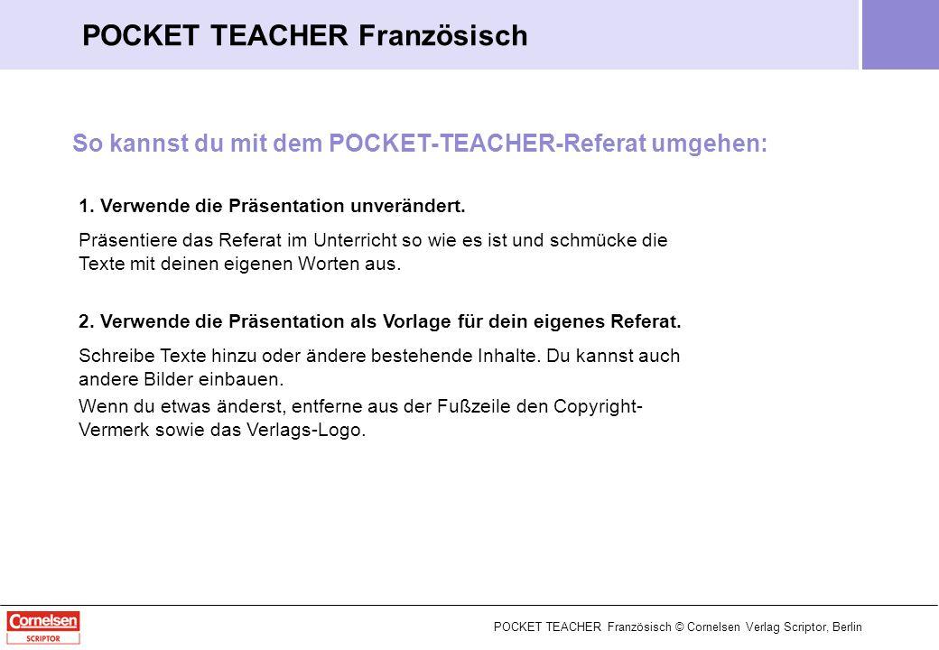 POCKET TEACHER Französisch