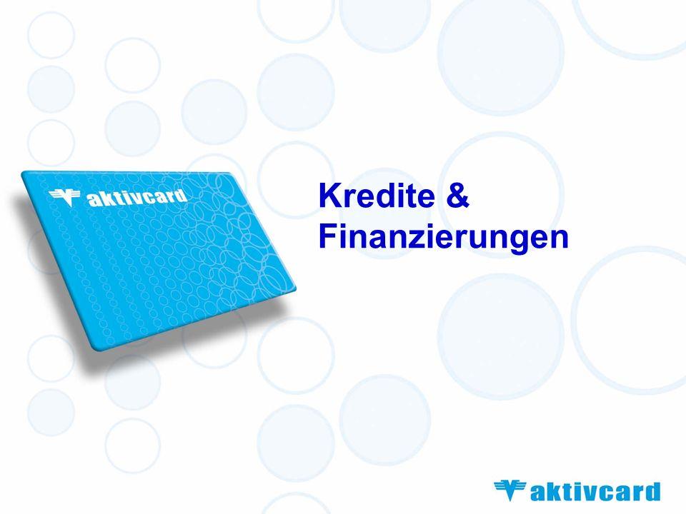Kredite & Finanzierungen