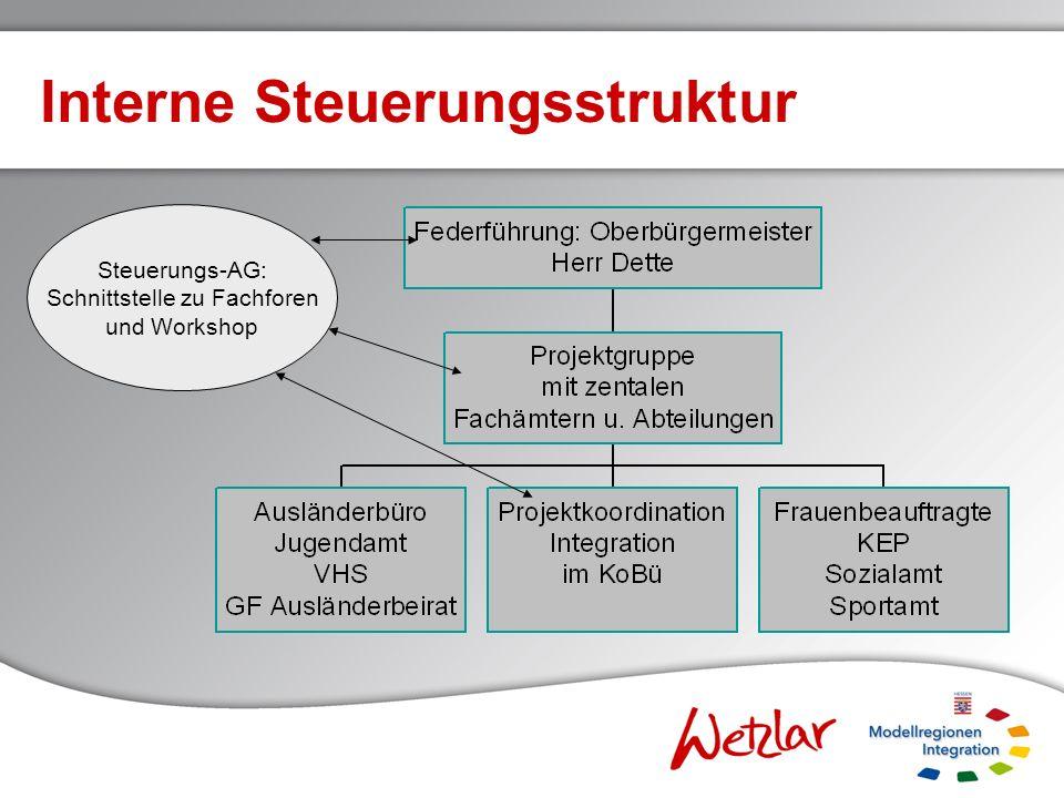 Interne Steuerungsstruktur