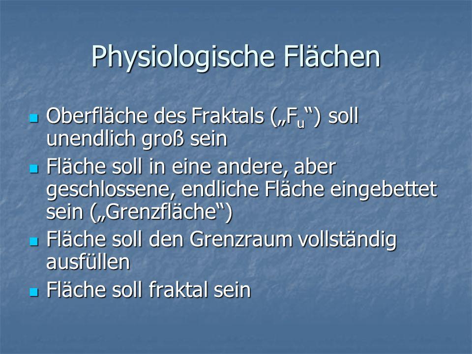 Physiologische Flächen