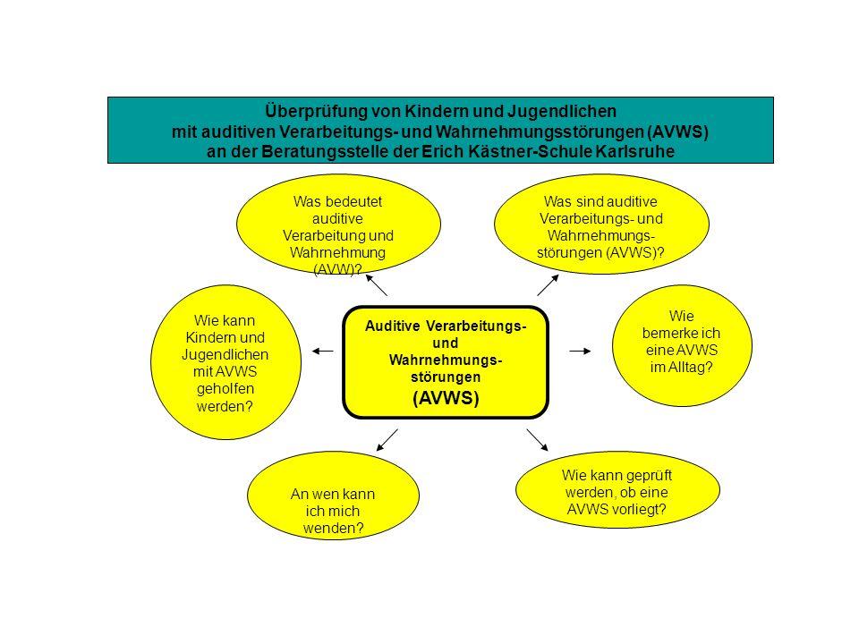 (AVWS) Überprüfung von Kindern und Jugendlichen
