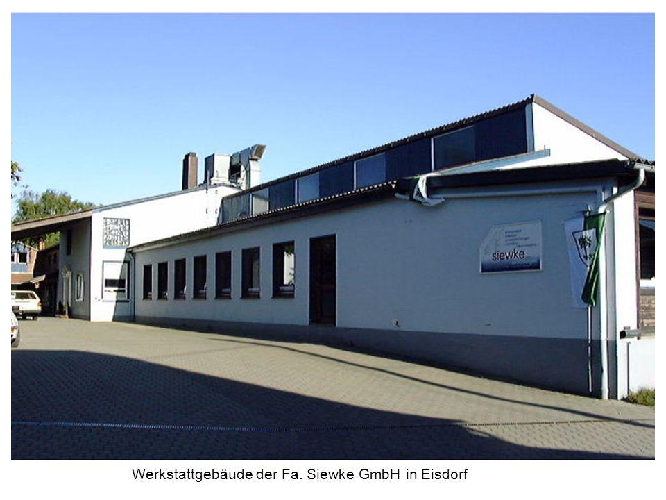 Werkstattgebäude der Fa. Siewke GmbH in Eisdorf