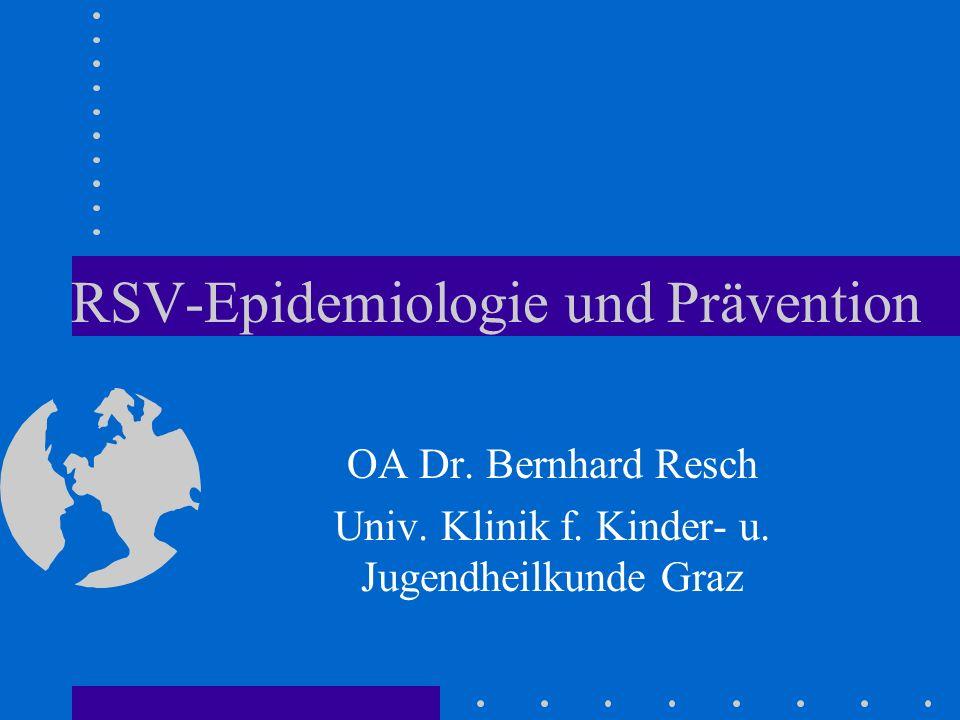 RSV-Epidemiologie und Prävention