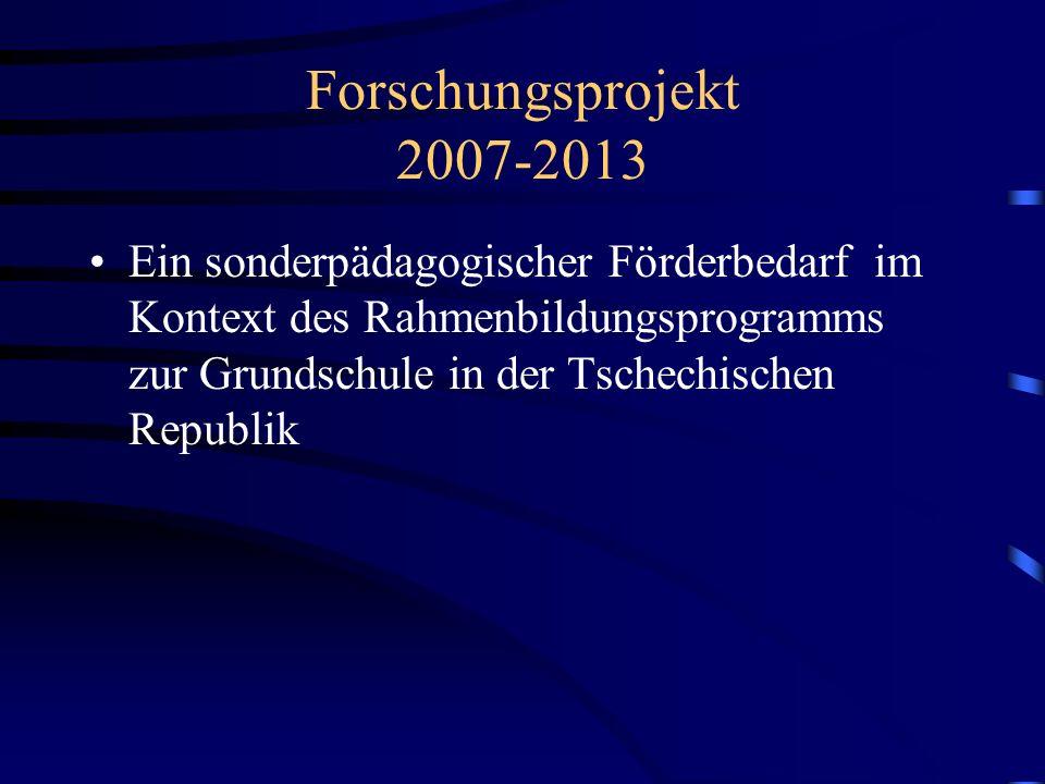 Forschungsprojekt 2007-2013