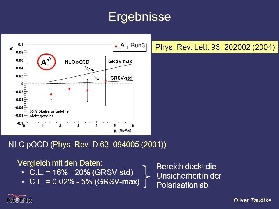 Ergebnisse Phys. Rev. Lett. 93, 202002 (2004)