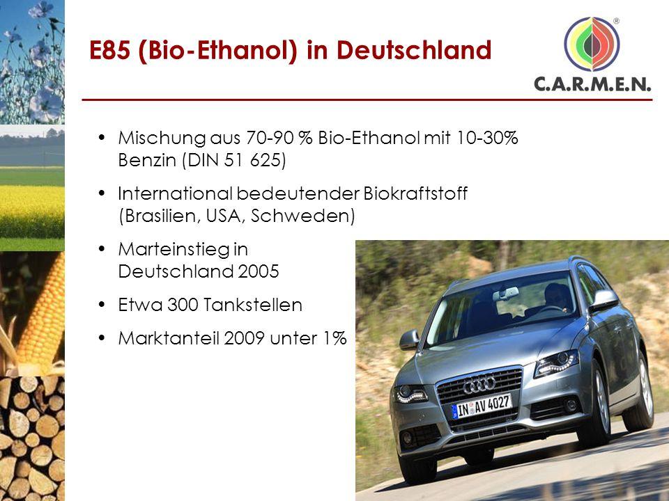 E85 (Bio-Ethanol) in Deutschland
