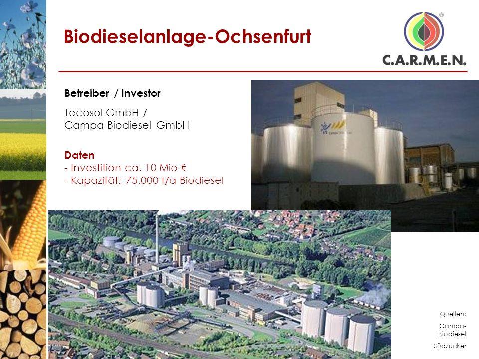Biodieselanlage-Ochsenfurt